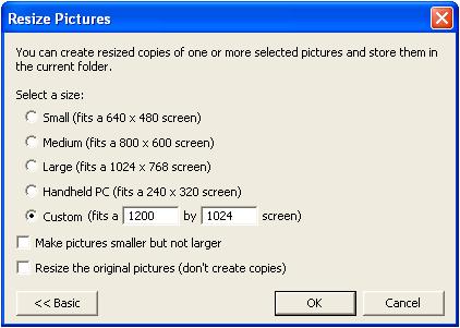 Image Resizer Powertoy for Windows XP