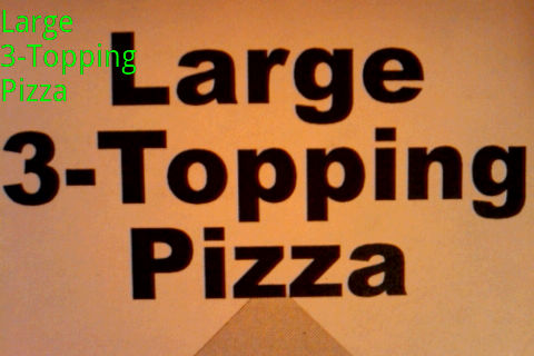 Large 3-Topping Pizza